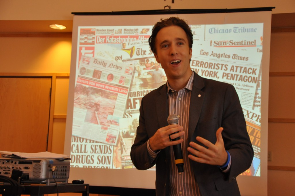 """Me"" to ""We""- Catching up with Craig Kielburger"