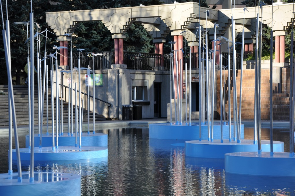 Photo of the Day: Spring at Olympic Plaza