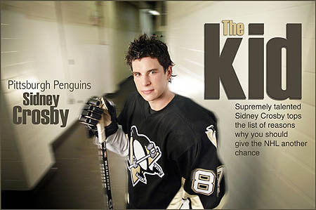 Sidney Crosby: Save talent on the ice
