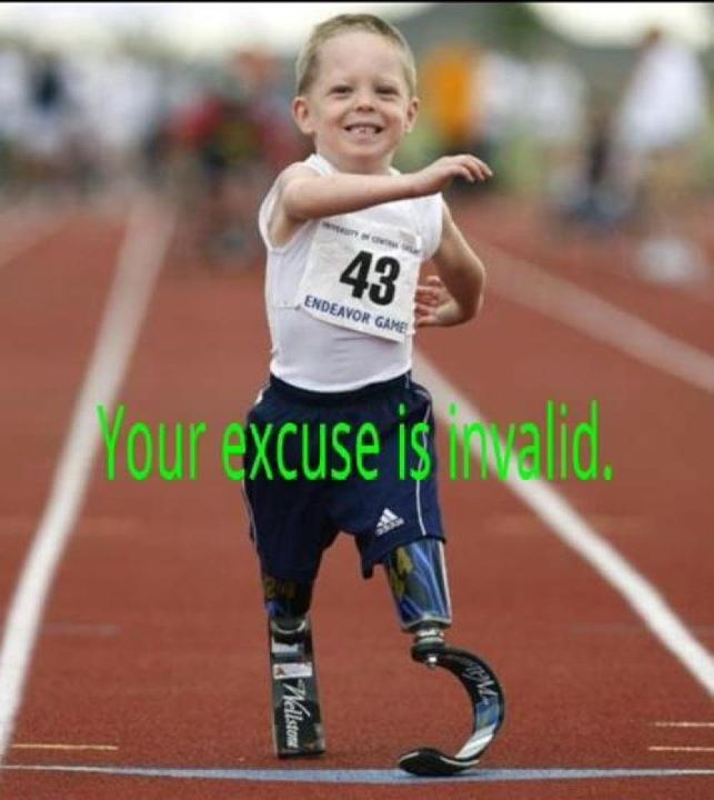 Photo of the Day: Your excuse is invalid