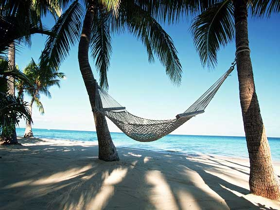 Caribbean Vacation Beach Hammock | Youth Are Awesome
