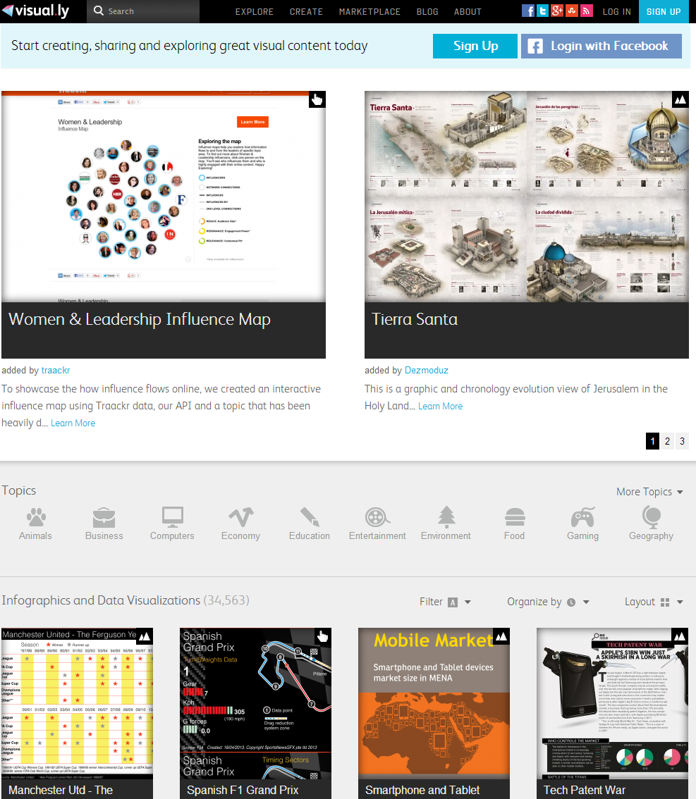 10 Tools for Creating Cool Infographics and Visualizations ...