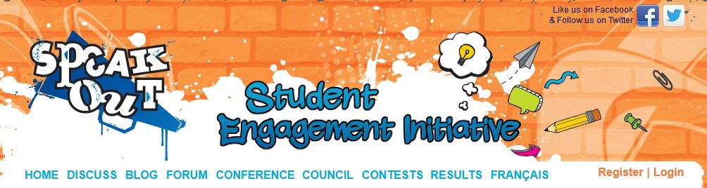 Speak Out! – Student Engagment Initiative