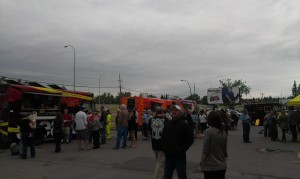 Flavours of the YYC food trucks