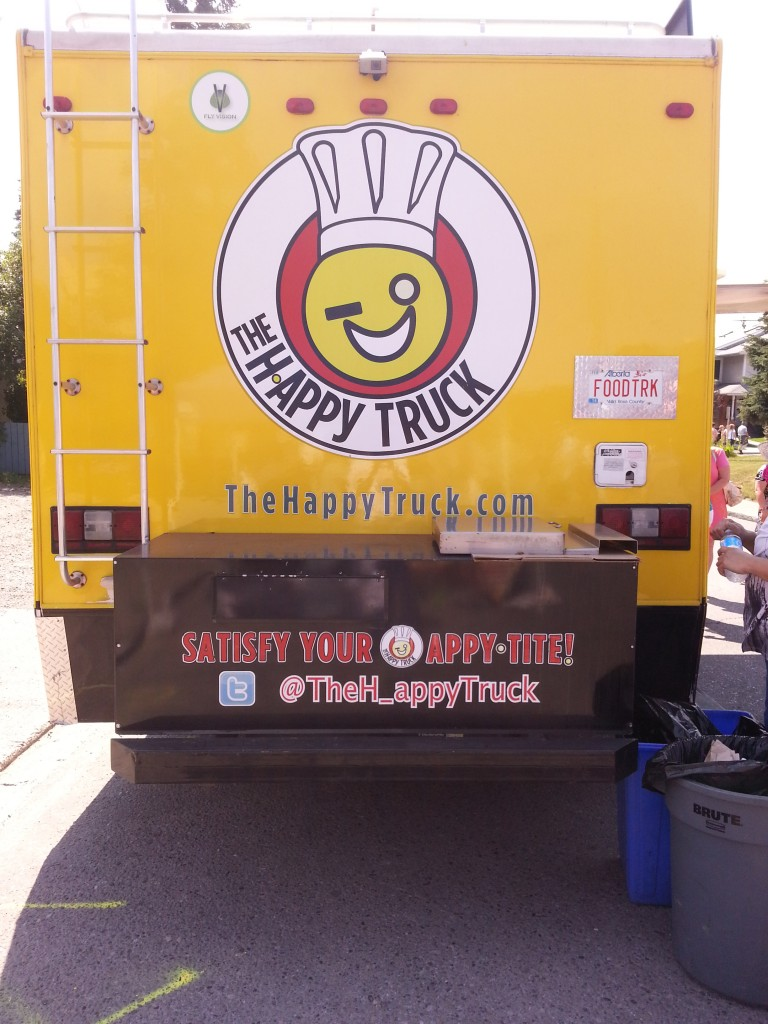 The Happy Truck that makes you happy