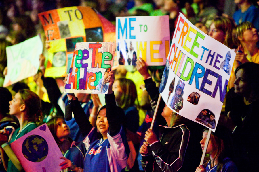 Youth can change the world: We Day Alberta