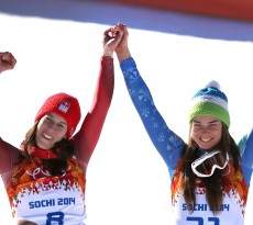 Sochi 2014 Women's Downhill Double Gold
