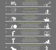 Productivity Infographic, from [http://visual.ly/9-ways-be-productive]