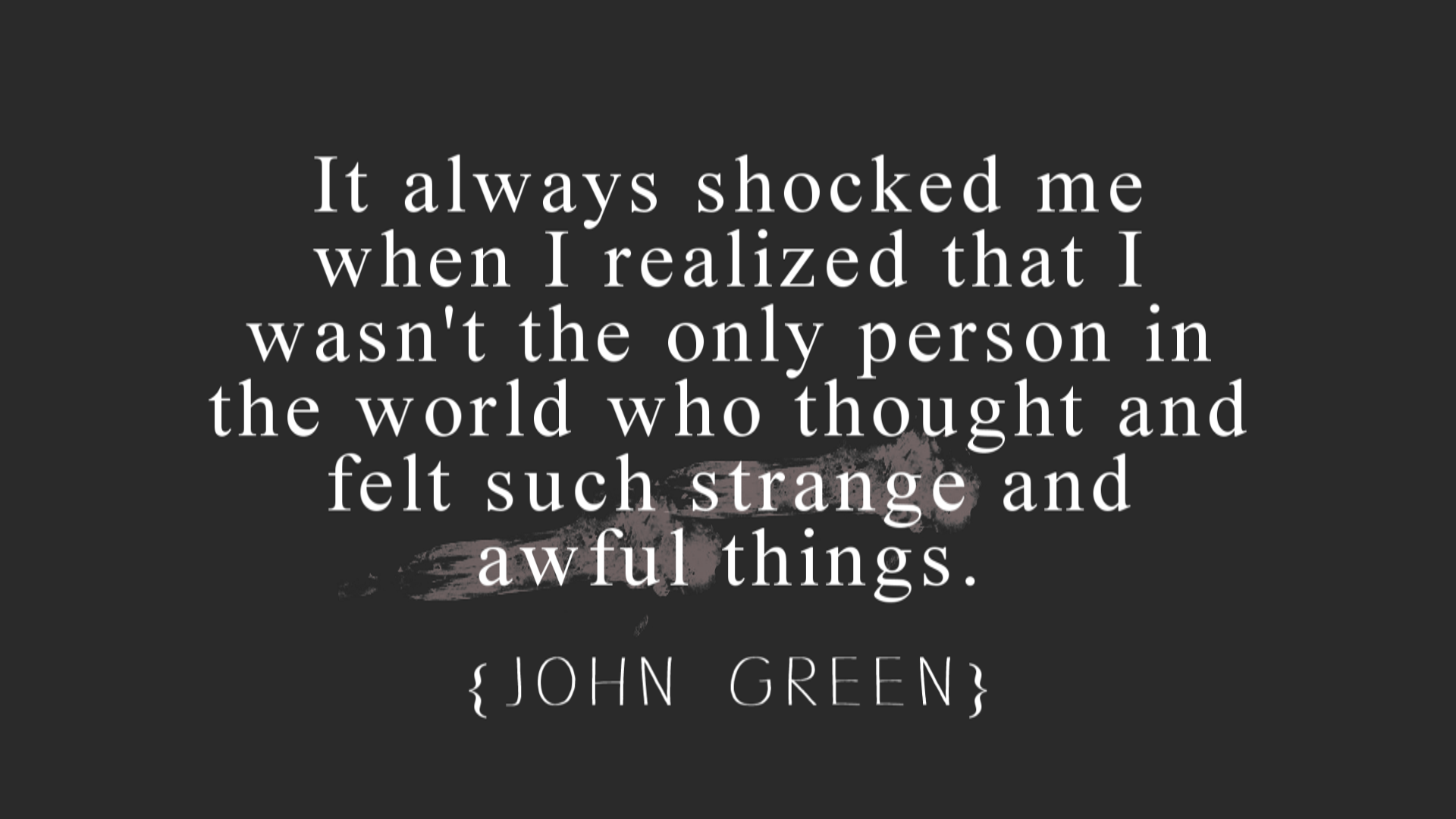 Internet Quotes Internet Friends Quotes John Green John Green Quotes Image At