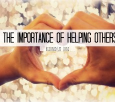 The Importance of Helping Others