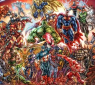 The war of our comic-book fantasies has begun! Who will win?