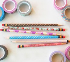 washi tape pencils 2