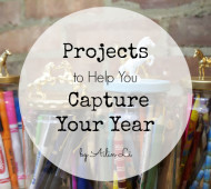 Projects to help you capture your year