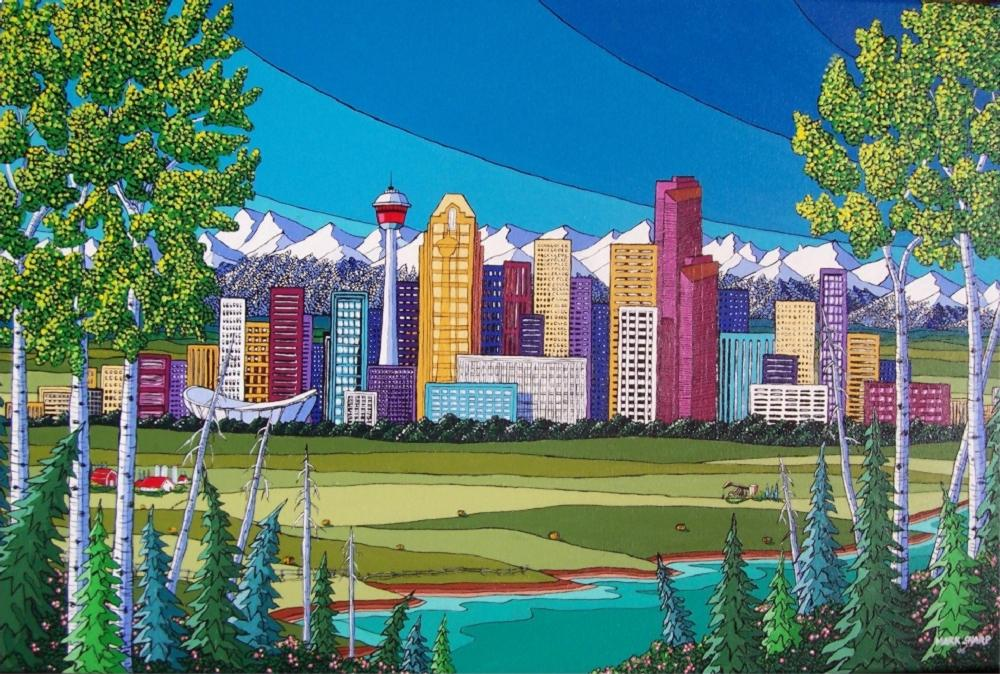 1174432258-Mark-Sharp-Calgary-Summer-Giclee-Print