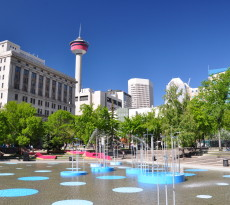 Retrieved from: https://commons.wikimedia.org/wiki/File:Calgary_-_Olympic_Plaza_%26_Calgary_Tower.jpg