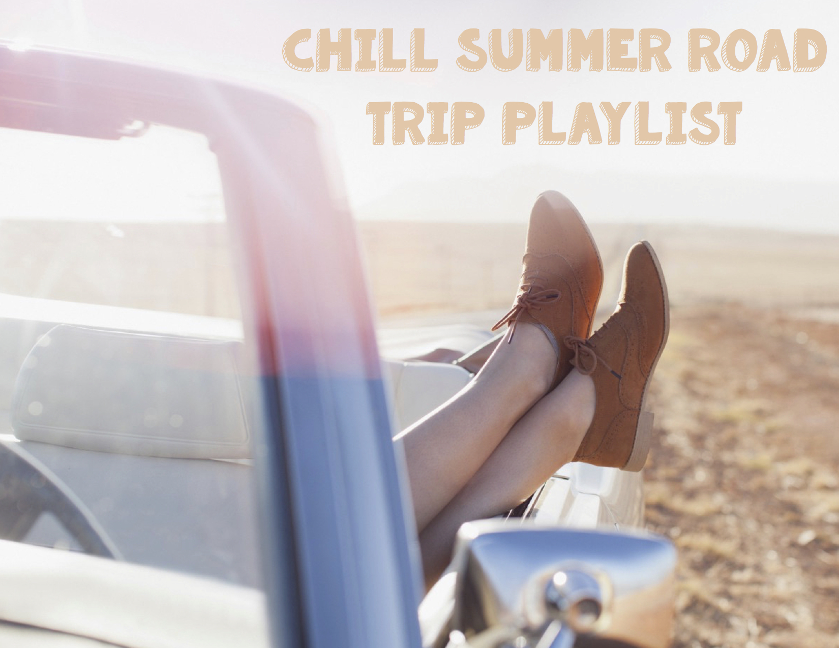 Chill Summer Road Trip Playlist Cover JPEG