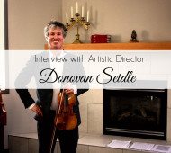 Interview with Donovon Seidle