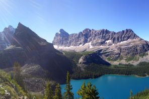 Hiking at Lake O'Hara