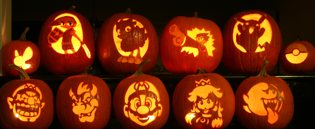 Awesome Video Game Pumpkins