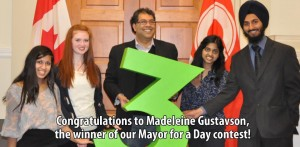 Apply to be the Mayor for a day