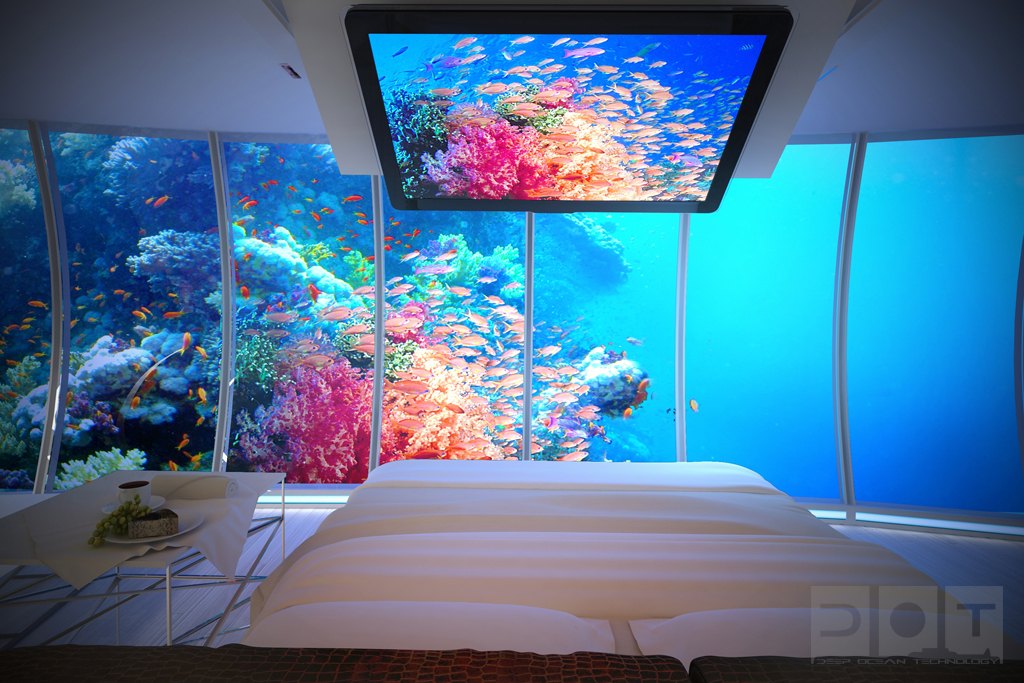 Four Most Beautiful Underwater Resorts In The World