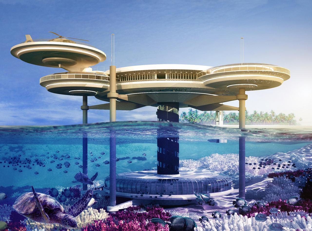 poseidon underwater hotel. Four Most Beautiful Underwater Resorts In The World Poseidon Hotel
