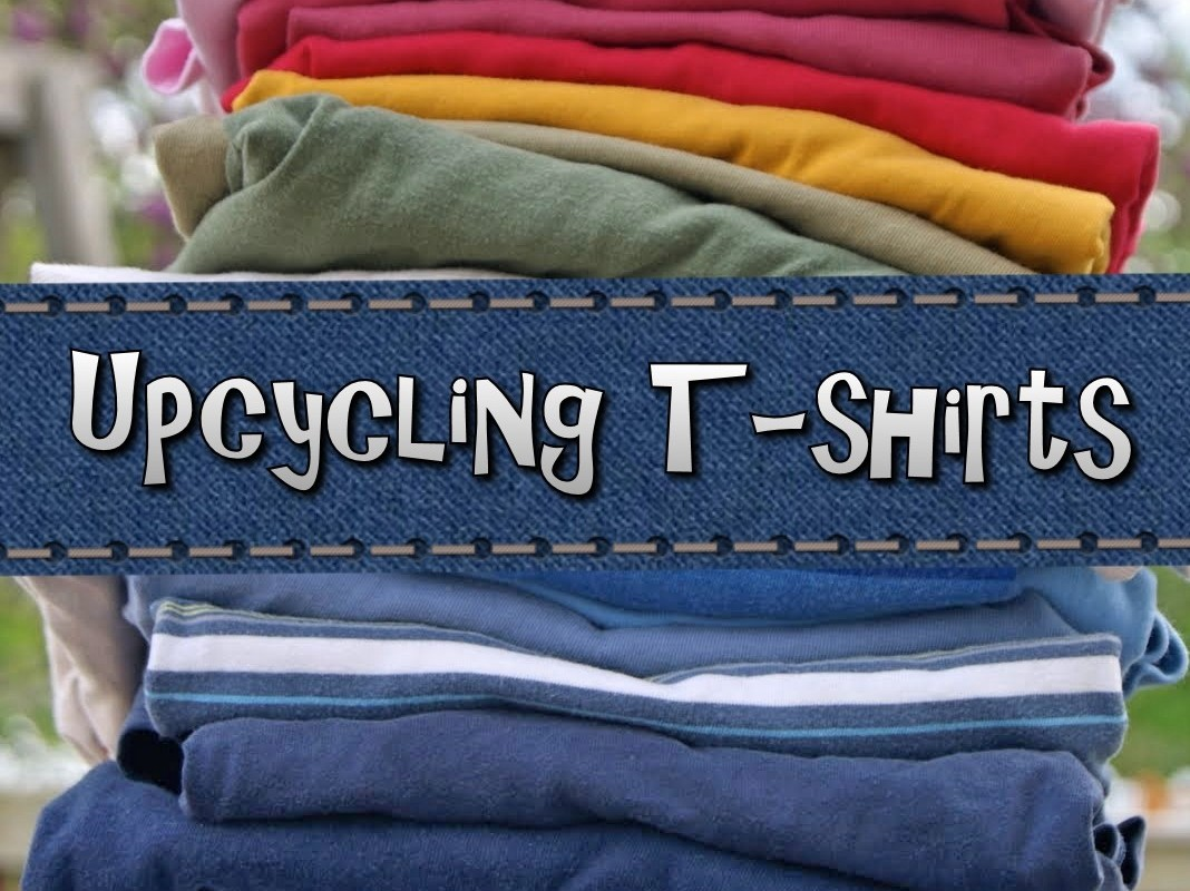 DIY: Upcycle Your T-Shirts | Youth Are Awesome