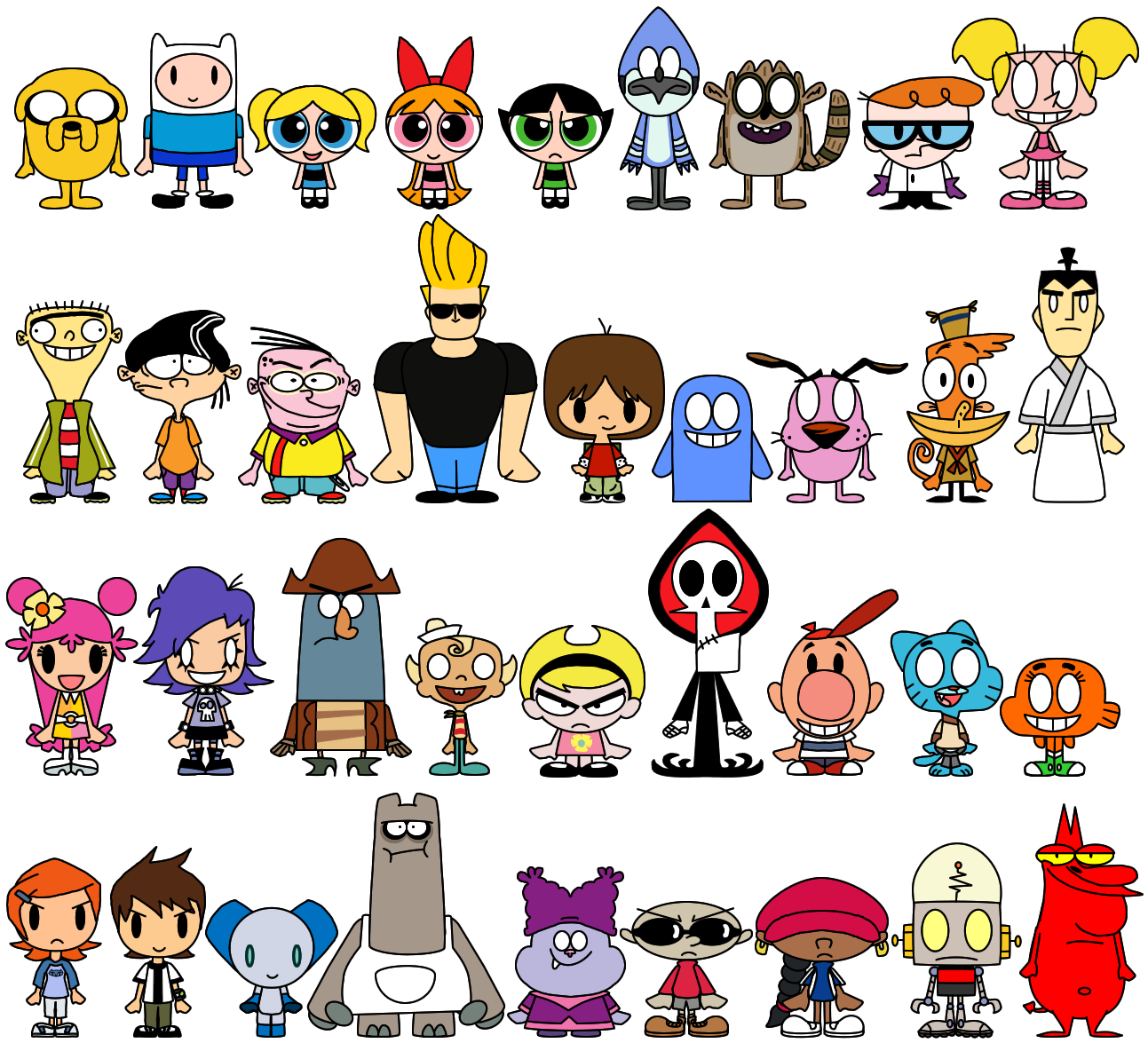 Cartoon Characters 2010 : Top childhood cartoons youth are awesome